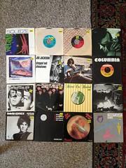 """Amoeba 7"""" single haul! (mills70) Tags: 2013 santabarbara vinyl amoeba"""
