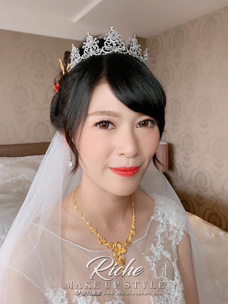【新秘RICHE】bride宜均 訂結婚造型 / 自然,韓系,甜美