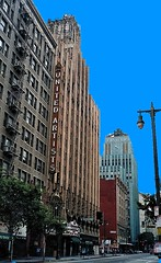 Los Angeles  California - United Artist Theatre - Ace Hotel - Restored (Onasill ~ Bill Badzo - 67 M) Tags: united artist theatre theater broadway restore atmosphere acehote historic downtown vintage old photo neon sign easter building nrhp landmark onasill theatredistrict attraction walkingtour easternbuilding condo adaptive restored reused