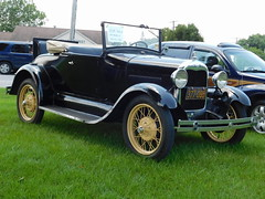 1929 Ford Model A Roadster (splattergraphics) Tags: 1929 ford modela roadster carshow lancastercountycruisers willowstreetpa