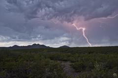 Patience (Steven Maguire Photography) Tags: arizona cochisecounty monsoon mountians lightning landscape southwest skyscape clouds