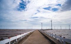 Path to the winds (Cadicxv8) Tags: wind sky sea vietnam bridge path way street mill windmill cloud travel landscape
