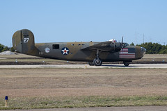 Diamond Lil Flag Side (dcnelson1898) Tags: 2019wingsoverdallas dallas texas commemorativeairforce caf flight warbirds airplanes consolidatedb24liberator bomber