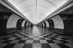 """Station """"Park Pobedy"""" Moscow Metro (zaxarou77) Tags: station park pobed moscow metro underground sub subway russia architecture perspective sony sonyclub a7 a72 a7m2 a7mii markii mark2 carlzeiss carl zeiss 1635 1635mm fe sel fe1635f4 fe1635f4za ilce7m2 variotessar t mm f4 za oss sel1635z"""