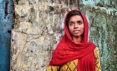 L'innocence (Ma Poupoule) Tags: cochin inde india porträt portrait ritratti ritratto visage face femme foulard woman