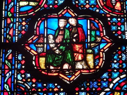 Paris - Vidriera Sainte Chapelle.