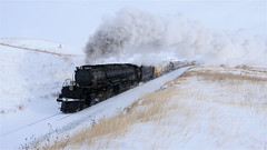 UP 4014 In The Snow One Of My Best Photos! (844steamtrain) Tags: 844steamtrain prr pennsylvania railroad t1 trust flickr 5550 4444 big steam locomotive fastest up boy 4014 sp 4449 lner flying scotsman mallard america usa 3985 844 most popular views viewed railway train trains trending relevant recommended related shared google youtube facebook galore viral culture science technology history union pacific engine metal machine art video camera photography photo black and white monochrome picture bw blackandwhite best top trump news new sp4449 up4014