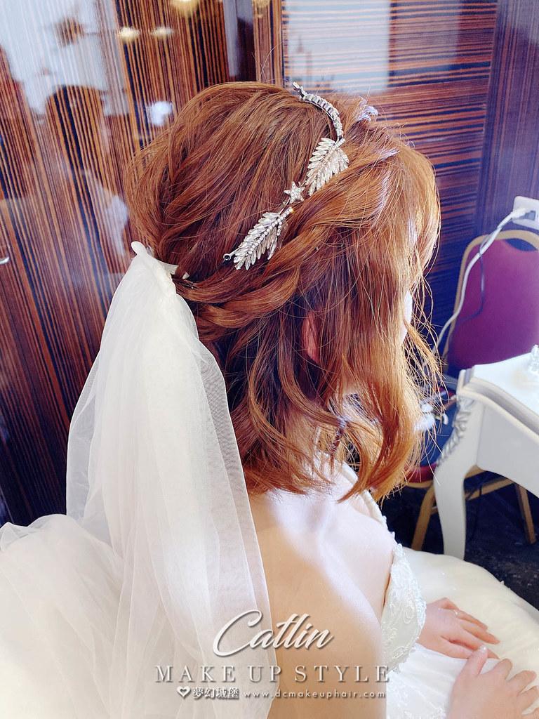 【新秘Catlin 】bride 珮鈞 結婚造型 / 甜美,韓系,率性