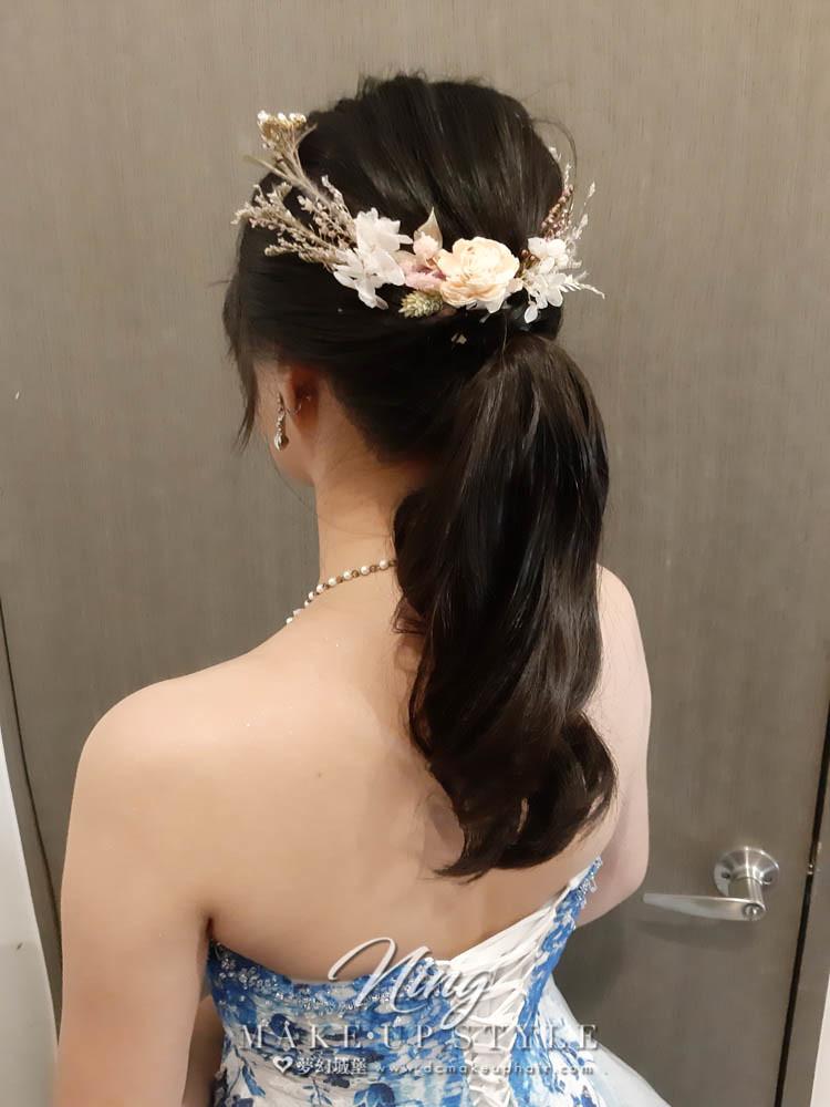 【新秘羽寧 】bride雨葳 結婚造型 / 韓系風,龍鳳掛