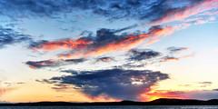 2011-04-02 Sunset (04) (2048x1024) (-jon) Tags: anacortes skagitcounty skagit washingtonstate washington salishsea fidalgoisland washingtonpark sunsetbeach sanjuanislands pugetsound pnw pacificnorthwest sunset red sky cloud clouds d90archives a266122photographyproduction
