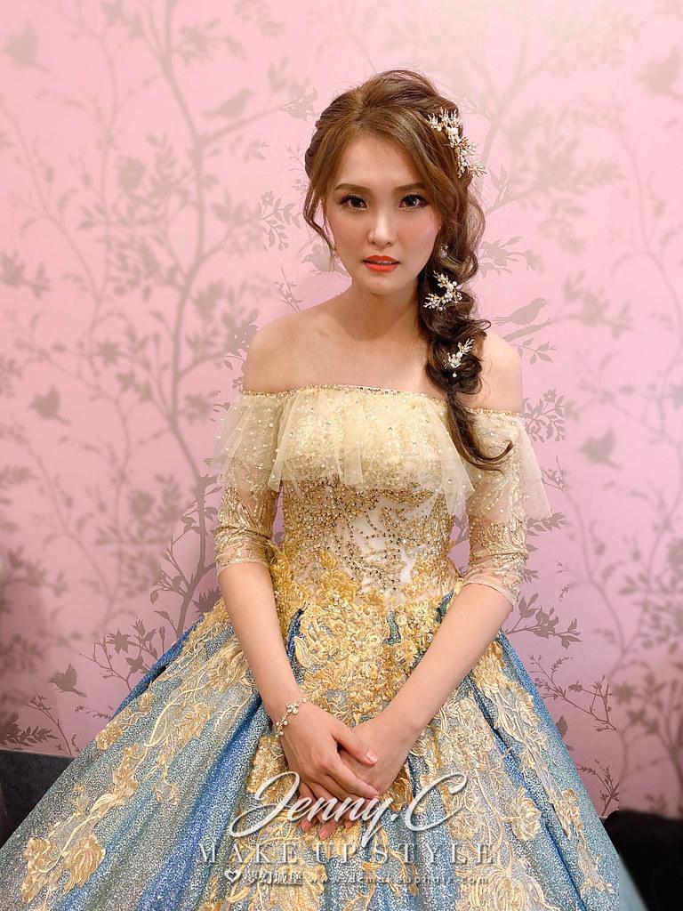 【新秘蓁妮】bride 雅莉 結婚造型 / 公主風,華麗,浪漫