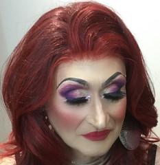 Lisah models her make up by Cindy (lisahfrench) Tags: lisahfrench lisah lisahfrenchmakeup lisahmakeup lisahfrenchboyswillbegirls lisahfrenchbwbg transvestite crossdressing lisahfrenchtg lisahfrenchcd femininetgirl mauveeyemakeup redlips redhair tgilmakeup transvestitemakeup
