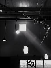 angled light (johngpt) Tags: snapseed lamps smoke windows attrifectacoffeecompany wall window places appleiphone7plus windowwednesdays hww