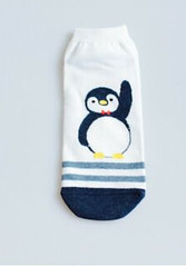 Penguin Ankle Socks Cotton (MADNICE Professional Cosmetics) Tags: penguin ankle socks cotton