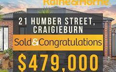 21 Humber Street, Craigieburn VIC