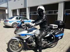 Leather uniform of traffic police, Poland (kyi027) Tags: poland traffic police policja officer polizei lederkombi motorrad kradkombi uniform leather поліція польща skorzane poliisi nahka cuir motard