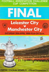 Manchester City vs Leicester City - FA Cup Final - 1969 - Cover Page (The Sky Strikers) Tags: manchester city leicester fa cup final road to wembley stadium empire football association challenge competition official programme 2