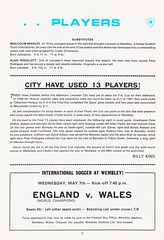 Manchester City vs Leicester City - FA Cup Final - 1969 - Page 7 (The Sky Strikers) Tags: manchester city leicester fa cup final road to wembley stadium empire football association challenge competition official programme 2