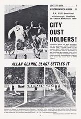 Manchester City vs Leicester City - FA Cup Final - 1969 - Page 9 (The Sky Strikers) Tags: manchester city leicester fa cup final road to wembley stadium empire football association challenge competition official programme 2