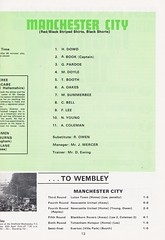 Manchester City vs Leicester City - FA Cup Final - 1969 - Page 13 (The Sky Strikers) Tags: manchester city leicester fa cup final road to wembley stadium empire football association challenge competition official programme 2