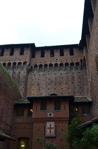 Inside The Sforza Castle [Milan - 2 November 2019]