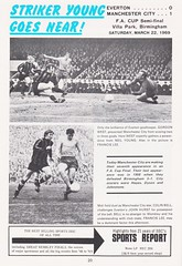 Manchester City vs Leicester City - FA Cup Final - 1969 - Page 20 (The Sky Strikers) Tags: manchester city leicester fa cup final road to wembley stadium empire football association challenge competition official programme 2