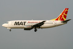 Z3-AAF (PlanePixNase) Tags: zürich zurich zrh lszh kloten airport aircraft planespotting matmacedonianairlines mat boeing 737 737300 b733 733