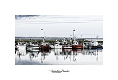 Temps calme sur le port (Seb BAUDIN) Tags: nikon d7000 loctudy finistère bretagne brittany breizh port harbor bateaux boats mer sea océan ocean littoral pêche fishing seascape