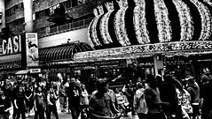 Welcome to Fabulous Las Vegas - 9 of 21 (draketoulouse) Tags: las vegas lasvegas fremont queen street streetphotography people contrast lights casino blackandwhite monochrome city night
