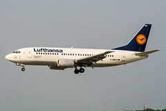 D-ABEA (PlanePixNase) Tags: zürich zurich zrh lszh kloten airport aircraft planespotting lufthansa boeing 737 737300 b733 733