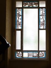 (Ute Kluge) Tags: window jugendstil staircase berlin