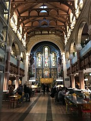 Nave of Mercato Mayfair (Matt From London) Tags: mercatomayfair metropolitano nave stmarks church foodhall