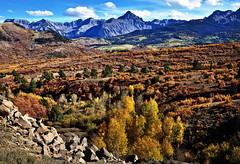 San Juan Mountains in Fall, Colorado (klauslang99) Tags: klauslang nature naturalworld northamerica continental divide san juan mountains fall autumn colorado