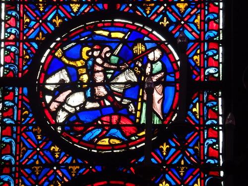 Paris - Vidriera Sainte Chapelle