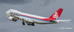 LX-VCI   Boeing 747-8R7F - Cargolux (Peter Beljaards) Tags: lxvci cityoftroisvierges cargolux boeing747 freighter airplane cargoplane ams eham schiphol polderbaan takeoff msn35822 cargo