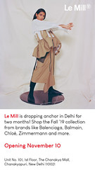 Le Mill India dropping anchor in Delhi (Womens Fashion india) Tags: le mill india