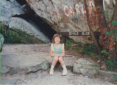 Margo at Robber's Cave (Michael Vance1) Tags: woman wife daughter family girl granddaughter grandmother oklahoma mother love
