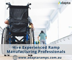 Hire Experienced Ramp Manufacturing Professionals (seo.adaptaramps) Tags: ramp manufacturing solutions residential access ramps