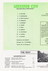 Manchester City vs Leicester City - FA Cup Final - 1969 - Page 12 (The Sky Strikers) Tags: manchester city leicester fa cup final road to wembley stadium empire football association challenge competition official programme 2