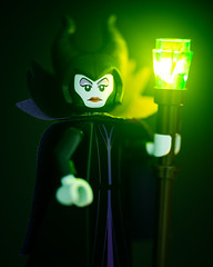 Maleficent! (Keith_Prefect) Tags: disney lego legophotography minifig minifigure magic light evil witch