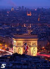Patriote (A.G. Photographe) Tags: ag agphotographe paris parisien parisian france french français europe capitale d850 arcdetriomphe grandpavois champsélysées