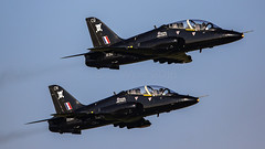 Pair of Hawks (MANX NORTON) Tags: raf coningsby egxc tornado hawk tucano qra typhoon eurofighter