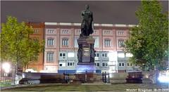 Statue of Karl Friedrich Schinkel (1781-1841) (Wouter Bregman) Tags: monument karl friedrich schinkel schinkelplatz berlin mitte berlijn germany deutschland duitsland allemagne герма́ния sculpture beeld memorial statue