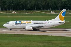 EI-CBQ (PlanePixNase) Tags: aircraft airport planespotting haj eddv hannover langenhagen airunion krasair boeing 737300 733 737 b733