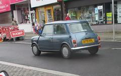 1986 Mini Mayfair (occama) Tags: d179krl 1986 austin rover leyland mini mayfair old small british car cornwall uk blue cornish reg