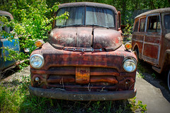 Dodge Power (Todd Evans) Tags: canon t6 oldcarcity dodge truck car auto automobile rust rusty decay
