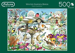 """FALCON F 11 500 500 49X35CM ART 11183 WINTER GARDEN BIRDS  Claire Comerford DELUXE (Andrew Reynolds transport view) Tags: jigsaw """"jigsaw puzzle"""" picture pieces large difficult falcon hobby leisure pasttime f 11 500 49x35cm art 11183 winter garden birds claire comerford deluxe"""