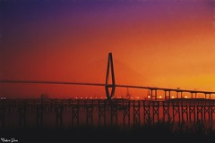 Sunsets (gusdiaz) Tags: sunrise ravenelbridge ravenel bridge puente cablestayed charleston atardecer sunset southcarolina marsh pantano amanecer reflection reflejo relaxing colorful ocean water mar oceano sand sandy salty saltlife colorido sal arena relajante stunning nature naturephotography gorgeous morning mañana naturaleza natural hermoso zen wideangle beautiful amor peace peaceful pacifico tranquilo plantation heritage preserve cooperriver breathtaking beachfront pine hardwood wetland barrier island isla trail canon canonphotography