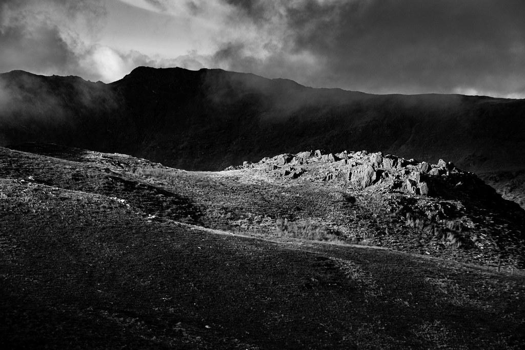 View Descending Moelwyn Mawr.
