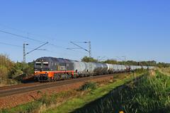 "861-005 ""Shrek"" (Andrzej Szafoni) Tags: 861 861005 hectorrail diesel deutschland niemcy train railroad railway locomotive"